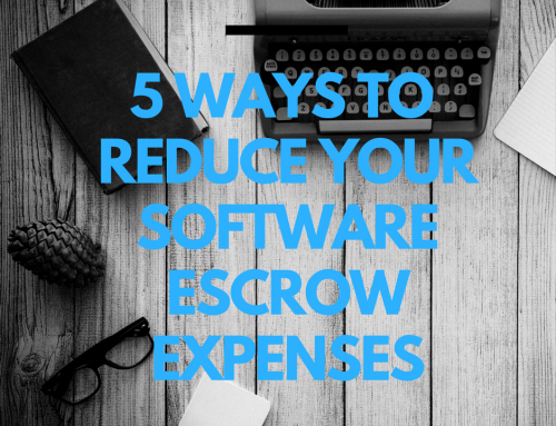5 Ways to Reduce Your Software Escrow Expenses