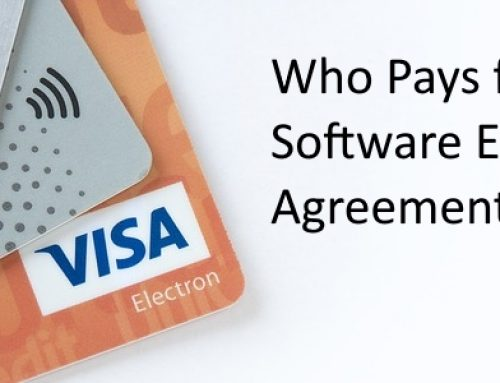 Who Pays for Software Escrow ?