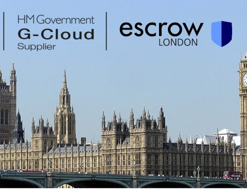 Escrow London Receives G-Cloud 10 Approval